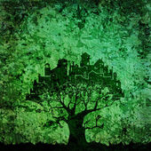 Tree - city — Stock Photo