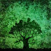 Tree - stadt — Stockfoto