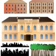 Architecture collection - Stock Vector