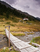 House in Alps — Stock Photo