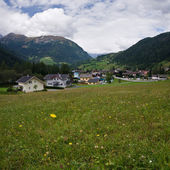 Austrian village — Stock Photo