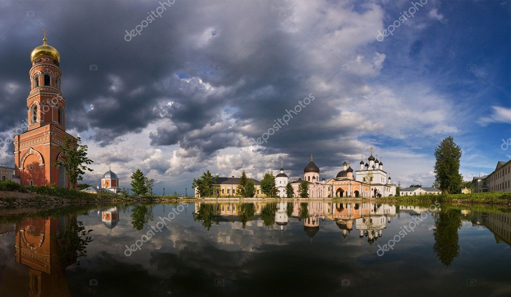 Davidova Pustin in Moscow Region, Russia — Stock Photo #3970834
