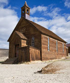 Old church in Bodie — Stock Photo