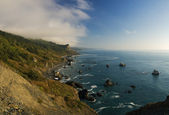 Coastline in California, panoramic view — Stock Photo