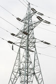 Power transmission tower — Foto Stock