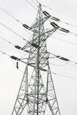 电力输电塔 — 图库照片