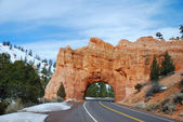 Stone gate in Bryce Canyon national park — Stock Photo
