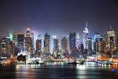 ニューヨーク市時間の正方形 — ストック写真