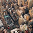 New York City street aerial view — Stock Photo #4001228