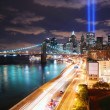 Manhattan at night — Stock Photo #4001261