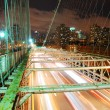 New York City Brooklyn Bridge - Stock Photo