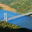 Bridge over Hudson River — Foto Stock