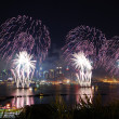 Stock Photo: New York City Manhattan fireworks