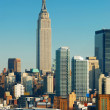 NEW YORK CITY EMPIRE STATE BUILDING — 图库照片