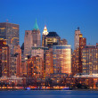 Hudson River, New York City - Stock Photo