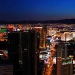 панорама горизонта города Лас-Вегас — Стоковое фото