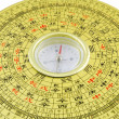 Chinese compass closeup — Stock Photo
