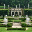 Fountains in garden - Stockfoto
