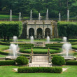 Fountains in garden - Photo