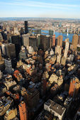 曼哈顿的天际线 — 图库照片