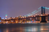 New york city manhattan bridge — Foto Stock