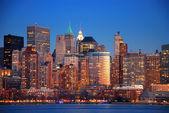 Hudson river, new york city — Stockfoto