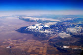 Snow Mountain Aerial View — Stock Photo