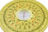 Chinese compass closeup — Stock Photo