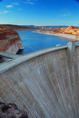 Glen Canyon Dam — Stock Photo