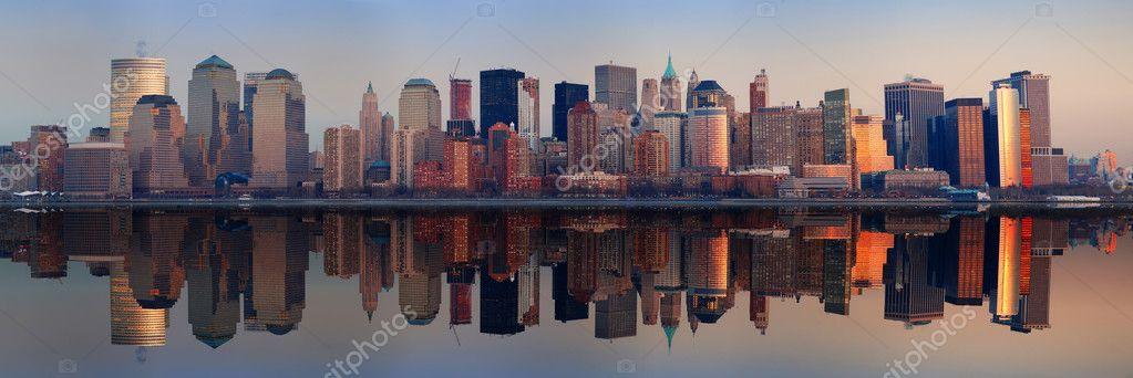 панорама нью-йорка большие фото