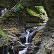 Watkins Glen Waterfall — Stock Photo