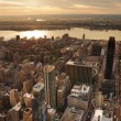 Hudson River sunset — Stock fotografie