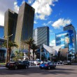 Las vegas strip straatmening — Stockfoto