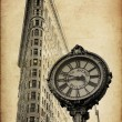 Stock Photo: Flat Iron building in New York City