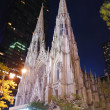 New York City Saint Patrick Cathedral — Foto Stock #4025990