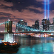 New York City Manhattan panorama — Foto de Stock