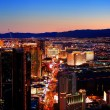 Las Vegas City Skyline panorama — Stock Photo