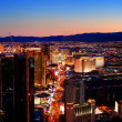 las vegas city skyline panorama — Stockfoto