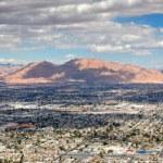 Urban City panorama — Stock Photo