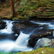 CREEK PANORAMA — Stock Photo