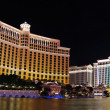 Las Vegas hotels panorama — Stock Photo