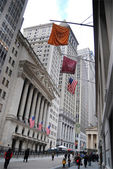 Wall Street, New York City — Stockfoto