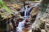 Cachoeira de watkins glen — Fotografia Stock