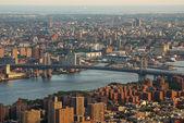 Williamsburg Bridge New York City — Stock Photo