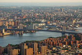 Williamsburg bridge new york city — Stock fotografie