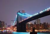 Brooklyn Bridge, New York City — 图库照片