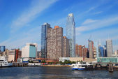 New York City Manhattan skyline — Stock Photo