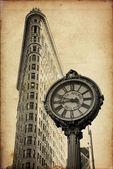 Flat Iron building in New York City — Stock Photo
