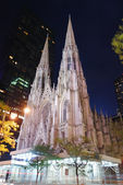 New York City Saint Patrick Cathedral — Стоковое фото