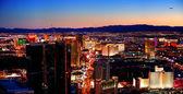 Las Vegas City Skyline panorama — Stock Photo